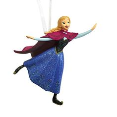 Hallmark Disney Frozen Anna Skating Christmas Ornament Skating * Learn more by visiting the image link.