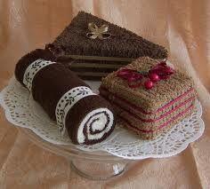 Towel Cakes, Chocolate Lovers Set of Three Mini Towel Dessserts