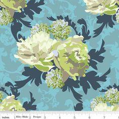 Vintage Verona Floral Green
