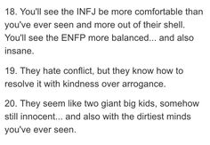 Infj And Entp, Infj Mbti, Introvert, Enfj, Meyers Briggs Personality Test, Enfp Personality, Infj Love, Enfp Relationships, Learning Psychology