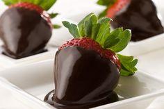 Chocolate Dipped Strawberry http://www.stepbystep.com/glow/
