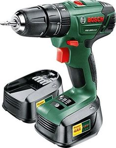 #eBay#Keyless#Cordless Hammer Drill Driver#18 V 2x Lithium-Ion#Batteries#Tool Box New