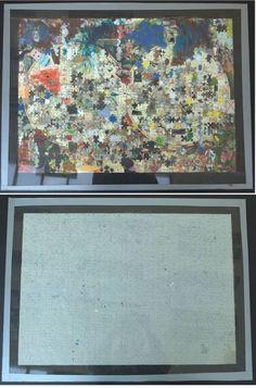 "Saatchi Art Artist Jan Mikšík; Painting, ""puzzle1"" #art"