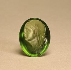 Intaglio Portrait of #cleopatra II, between 175 - 150 Century B.C . #Hellenistic #ptolemaic , period either #Egyptian or #greek