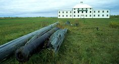 York Factory near Churchill, Manitoba. A National Historic Site of Canada. Fur Trade, Canadian History, The Great White, O Canada, Hudson Bay, First Nations, Countries Of The World, Churchill, Historical Sites