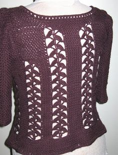 """Free pattern for """"Lotus Blossom Cardi""""!"""