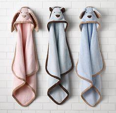 animal hooded towels