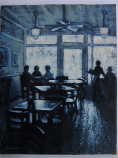 Lunch Time Silhouettes by Sarah Stifler Lucas