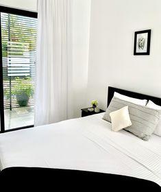 Modern black and white bedroom Minimalist Design, Furniture, Open Plan, 3 Bedroom House, House, Modern, Bedroom, White Bedroom, Home Decor