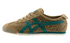 ac35aa964a3 Onitsuka tiger animalier pack AW LAB exclusive edition   mexico 66 Leopard  pale brown
