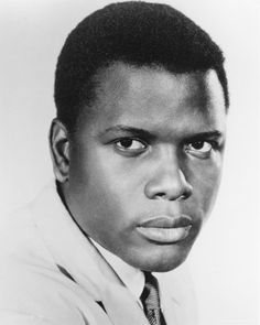 Sidney Poitier - a man of substance, worth, dignity, character and integrity.  It doesn't help to be beautiful outside as well! Sigh!