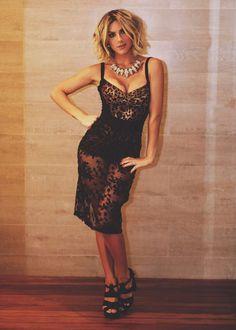 Giovanna Ewbank escolheu um look Dolce Gabbanna para comemorar seus 31 anos (Foto: Elvis Moreira)