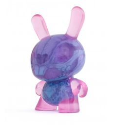 "5"" Infected Dunny (Blue and Pink) Artist: Scott Wilkowski"