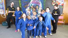 We loved visit the small school (Te Kura o Kutarere) with a big heart!