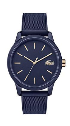 Lacoste, Bracelets Bleus, Bracelet Silicone, Omega Watch, Watches, Leather, Accessories, Products, Unique