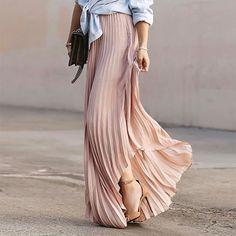 Elegant Vacation Skirt                      – Stylishplus
