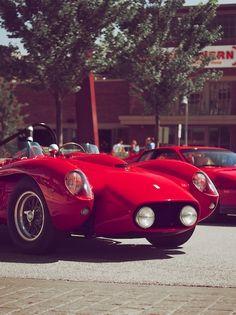 #red Ferrari Testarossa