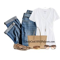 Jeans and Tee - Casual