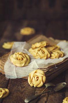 """Kanela y Limón: Galletas """"Rosas"""" de calabaza"""