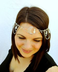 Hey, I found this really awesome Etsy listing at https://www.etsy.com/listing/108927950/moon-goddess-circlet-headpiece-bridal