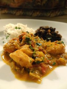 Scrumpdillyicious: Punjabi Fish Curry with Bengali-Style Marinade