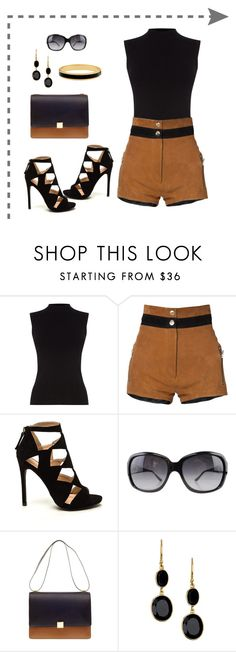 """Untitled #899"" by gallant81 ❤ liked on Polyvore featuring Oasis, Beau Souci, Bulgari, CÉLINE, Argento Vivo and Halcyon Days"
