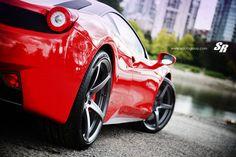 Rosso Corsa Ferrari 458
