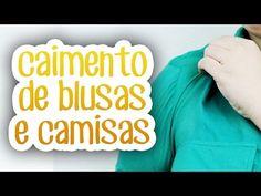 Caimento de blusas e camisas | COMPRANDO DO TAMANHO CERTO 1 - YouTube
