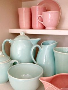 Bella Rosa Antiques: LuRay Pastels Dinnerware: Celebrating 20 Years
