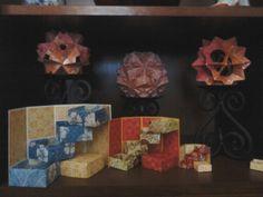 Kusudamas & boxes in a box