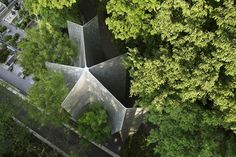 Completed in 2013 in Saitama, Japan. Images by Koji Fujii / Nacasa & Partners Inc.. Sayama Lakeside Cemetery is open to various religions and denominations. It is located in a nature-rich environment adjacent to the water...