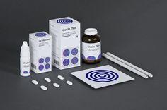 Medicine Package by Lili Köves, via Behance