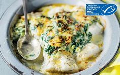 Looking for a quick dinner or a delicious dessert? Search through our vast range of Pick n Pay recipes and get cooking like a pro. Hake Recipes, Fish Recipes, Seafood Recipes, My Recipes, Baking Recipes, Fish Dishes, Seafood Dishes, Spinach Bake, Sustainable Seafood