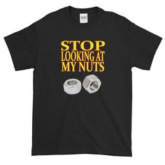 Some people have no class. Some people have no respect. It's unbelievable, but I have to tell some people to stop looking at my nuts. Look At Me, Respect, People, Mens Tops, T Shirt, Supreme T Shirt, Tee Shirt, People Illustration, Tee