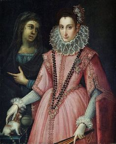 Lavinia Fontana (1552-1614) was born in Bologna, the daughter of fresco painter Prospero Fontana, who served as her teacher. As his only ch...