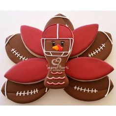 For those who love Thanksgiving for the food and those who love it for the football.  Best of both worlds!