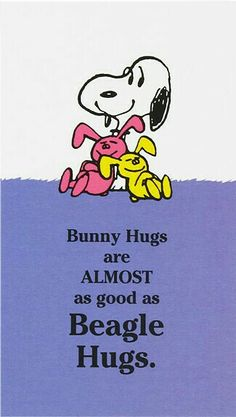 Easter Snoopy...puts a smile on your face!