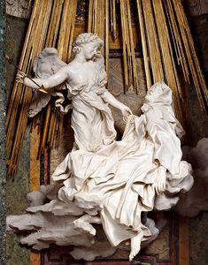Éxtasis de Santa Teresa, por Gian Lorenzo Bernini, (Barroco Italiano), Capilla…
