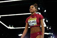 ¡Se salió con las suyas! Yulimar Rojas estableció nuevo récord mundial #Atletismo #Deportes