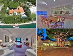Today's priciest listing in South Florida is located in the exclusive Star Island of Miami Beach. The former estate of Rosie O'Donnell features an exapansive floor plan of 11,104 sq ft with 12 bedrooms, 11 bathrooms, fireplace, and large terrace overlooking the water. It sits on a 48,266-square-foot waterfront lot with two seperate guest houses, a large dock and 203 feet of water frontage. All yours for $19.5 million.  Looking for a MB property? Call me, 305-804-ROSE (7673), today!