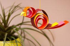 Craft for Kids - Spring Bird (Поделка для детей - весенняя птичка) #kidCraft #Craft