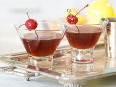 Get Chocolate Cherry Martini Recipe from Food Network