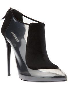Giorgio Armani Ankle Boot Preta - Stefania Mode - Farfetch.com.br