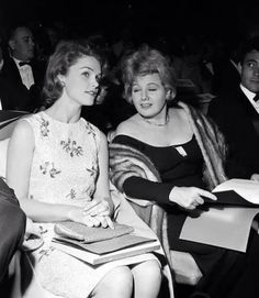 Lee Remick and Shelley Winters - 1964 Emmys
