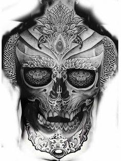 Rücken tattoos tattoos, back tattoo и sleeve tattoos Backpiece Tattoo, Skull Tattoos, Chest Tattoo, Black Tattoos, Sleeve Tattoos, Back Tattoos For Guys, Full Back Tattoos, Tattoos For Women, Back Piece Tattoo Men