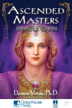 Ascended Masters Oracle Cards - Doreen Virtue <3 This is my favorite deck so far!!  Love the art work on these cards