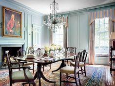 Moore House, Georgian Homes, Living Room White, Luxury Decor, Apartment Living, Home Interior Design, Table, House Design, House Styles
