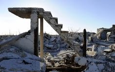 Villa Epecuen, Buenos Aires. THe town spent a quarted of a century underwater