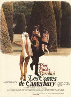 Pier Paolo Pasolini (1972) The Canterbury Tales | M158 | #movie #film #movieposter #comedy #Pier_Paolo_Pasolini