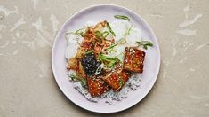 Crispy Tofu with Maple-Soy Glaze Recipe | Bon Appetit